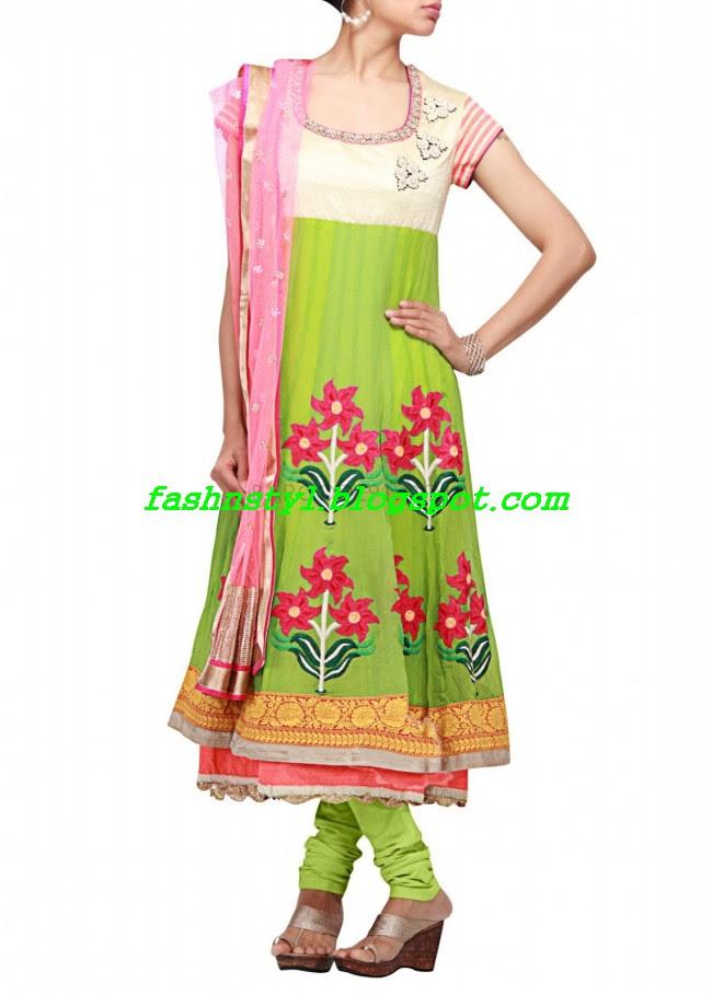 Anarkali-Fancy-Embroidered-Churidar-Frock-New-Fashion-For-Girls-by-Designer-Kalki-2