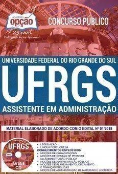 Apostila Concurso UFRGS 2018 | ASSISTENTE EM ADMINISTRAÇÃO