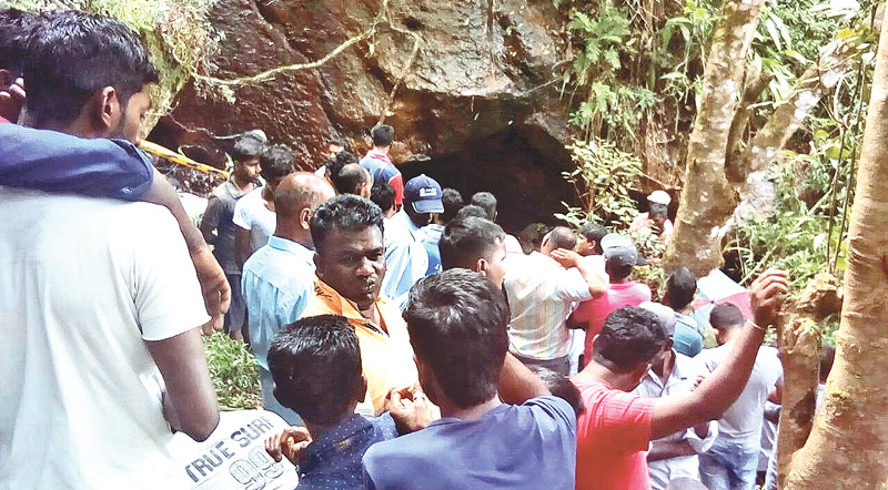 Bodies found in Ragala cave