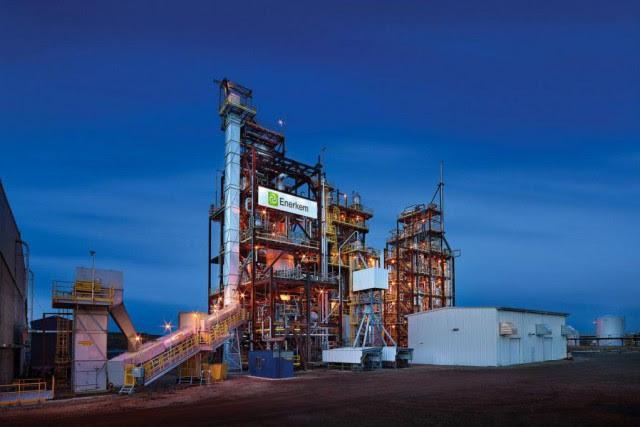 L'usine envisagée serait deux fois plus grosse que... (photo merle prososfsky, fournie par enerkem)