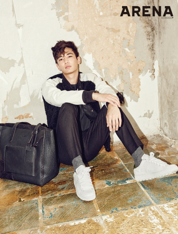 SHINee Minho - Arena Homme+ Magazine September Issue '15