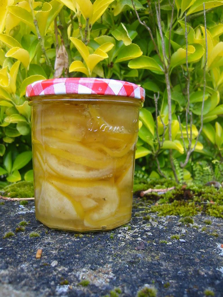 lemon elderflower marmalade