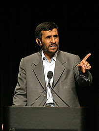 President of Iran @ Columbia University.