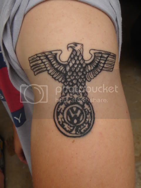 arm tattoo vw