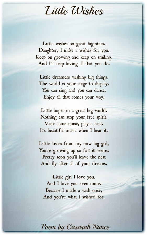 Little Wishes Inspirational Poems