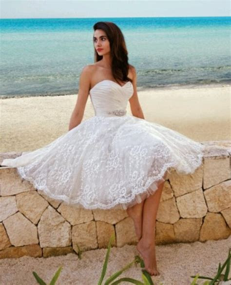 Unique Summer Beach Wedding Dresses 2015
