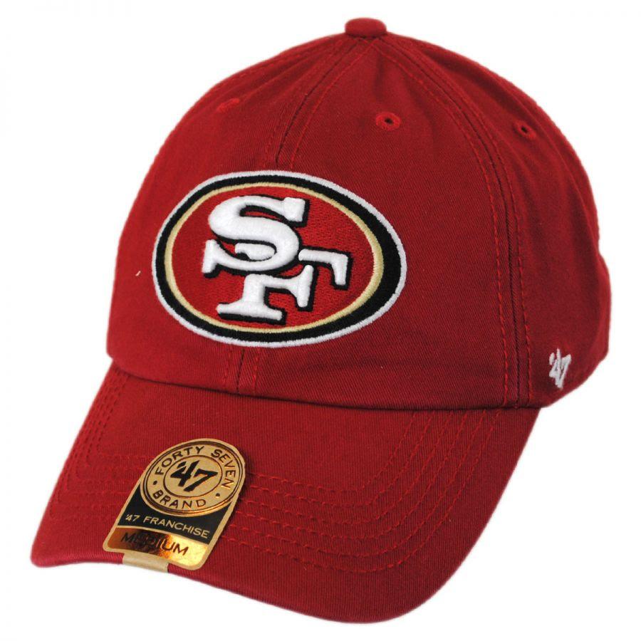 47 Brand San Francisco 49ers NFL Franchise Fitted Baseball Cap NFL Football Caps