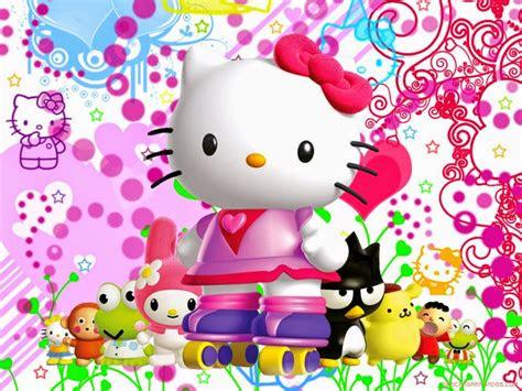 gambar  kitty wallpaper hd animasi bergerak lucu