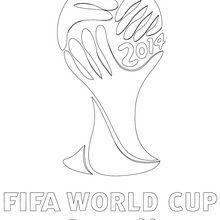 Coloriages De Coupe Du Monde De Foot Coloriages Coloriage à