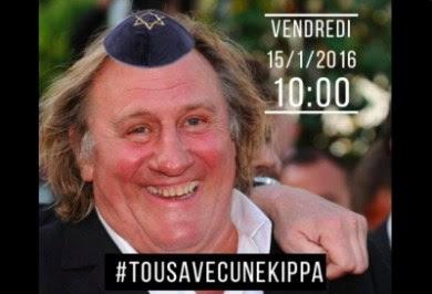 kippa'd French actor
