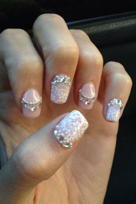 1000  ideas about Wedding Nails on Pinterest   Nail Charms