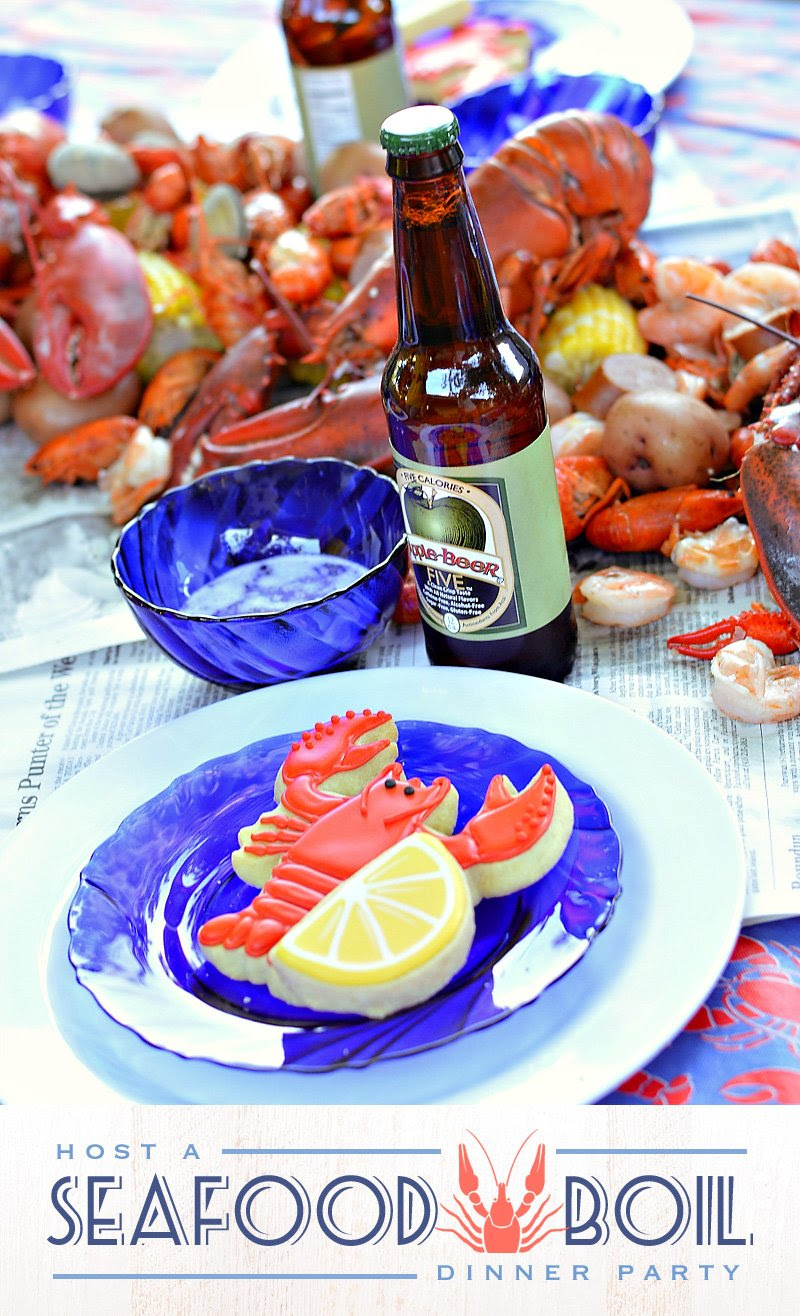 A Casual Chic Low Country Seafood Boil Hostess With The Mostess