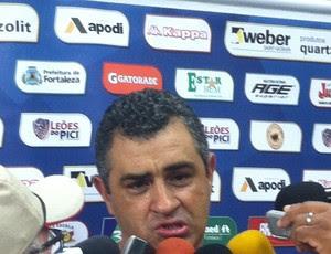 Marcelo Chamusca, técnico do Fortaleza (Foto: João Marcelo Sena)