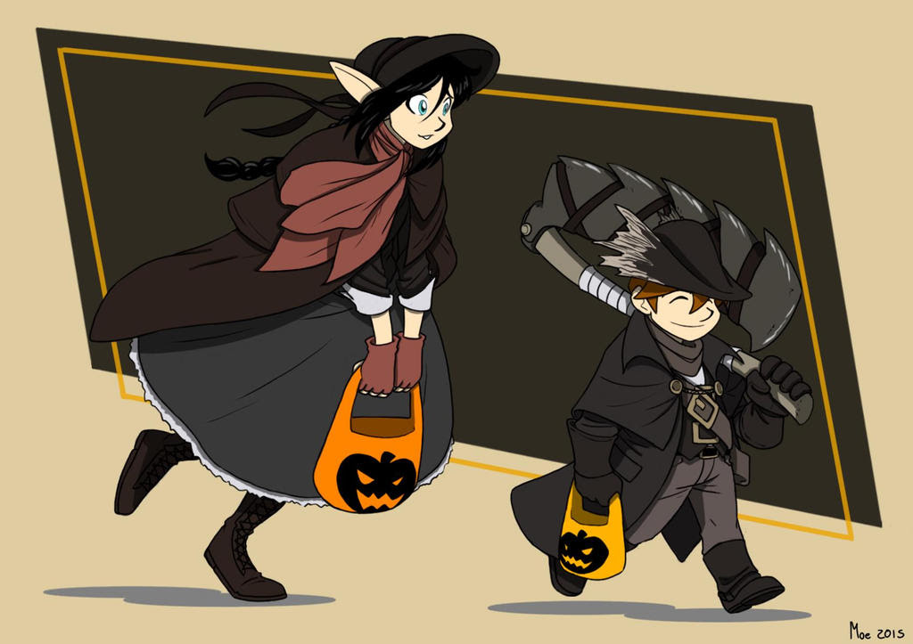 Happy Halloween, Brave Hunters