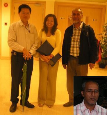 Saing demo bersama-sama Datin Paduka Marina Mahathir dan Jeff Ooi