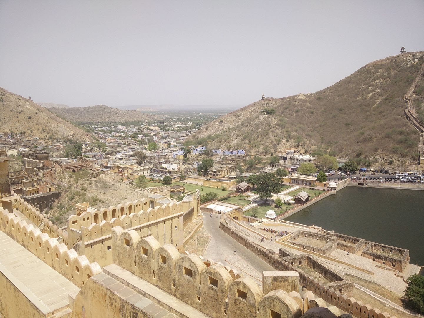 View From Amer or Amber Fort Near Jaipur, India photo IMG_20150509_133957_zpsbiwsi3of.jpg