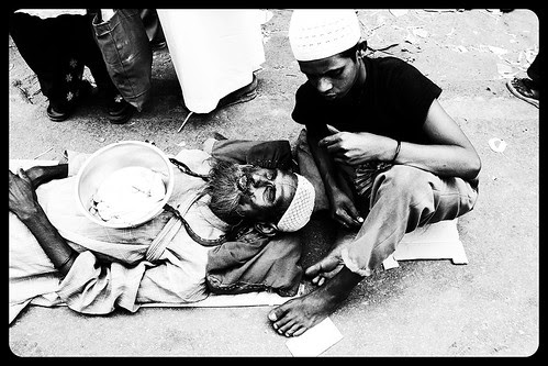 """It is a beggar's pride that he is not a thief"" by firoze shakir photographerno1"