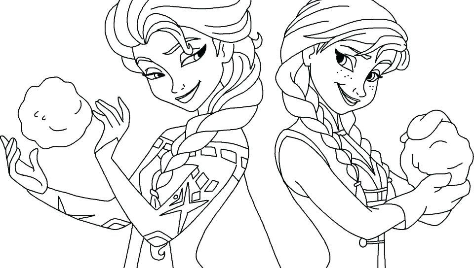 Frozen Coloring Pages Elsa Face At Getcolorings Com Free Printable