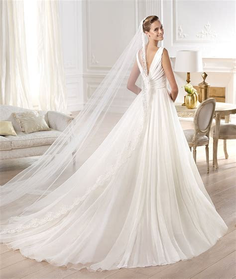 atelier pronovias wedding dresses  collection modwedding