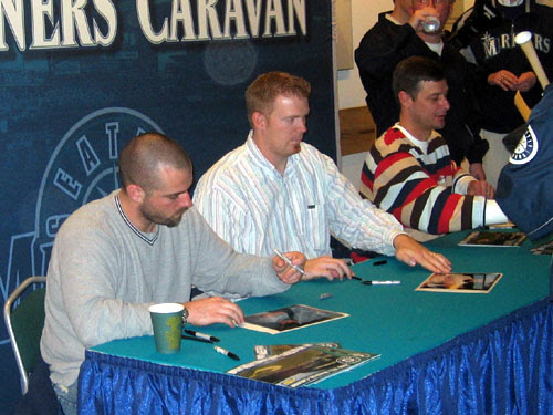 George. JJ, and Jamie