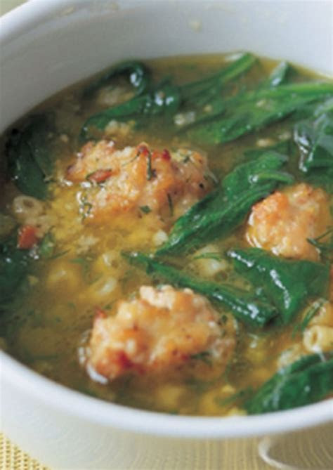Italian Wedding Soup   Recipes   Pinterest