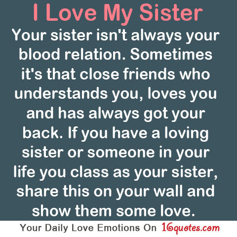 Quotes About Loving Your Sister 20 Quotes