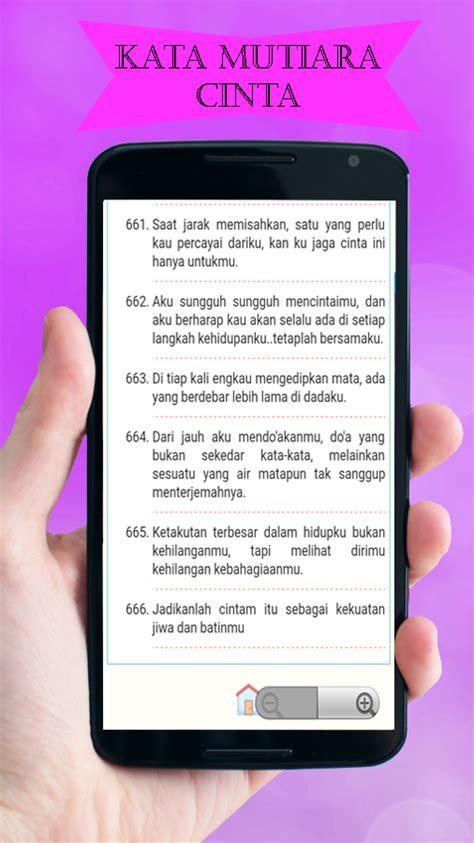 kata mutiara cinta galau android apps  google play