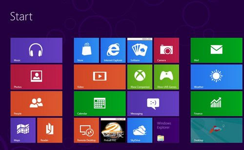 partisi di Windows 8