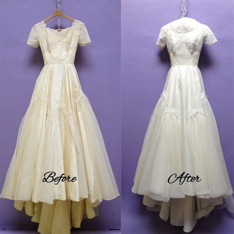 Best Dry cleaning wedding dress before wedding   Best