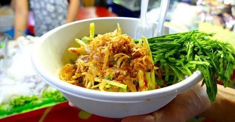 Gỏi hàu sống siêu cay Thái Lan | Fresh oyster salad Thailand | Streetfood
