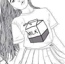 Dibujos Tumblr Para Dibujar De Chicas