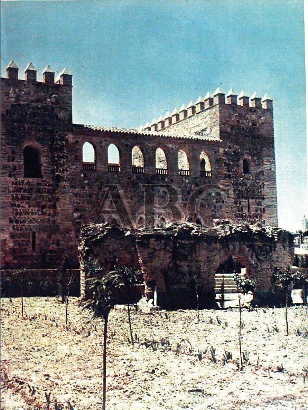 Palacio de Galiana en 1965 tras ser restaurado bajo la dirección de Fernando Chueca Goitia. Foto ABC