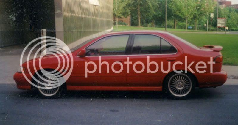 My old 1999 Nissan Sentra SE-Limited