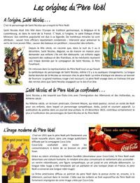 Les origines du mythe du Père Noël - fiche documentaire