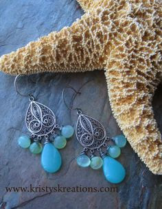 Earrings Everyday: Ocean Water