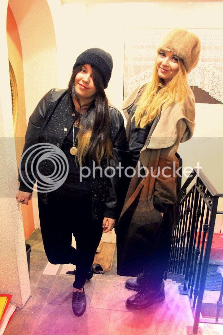 Jessica Ip, Plus Size Fashion, Full Figured Fashion, Plus Size Blogger, Toronto, Canada, Beanie, Plus Size Harem Pants, Plus Size Crop Top, Plus Size Crop, Plus Size Lace Crop Top, Lace Crop Top, Brogues, Plus Style, Fatshion February, Fatshion, Twinsies, ombre, ombre coat