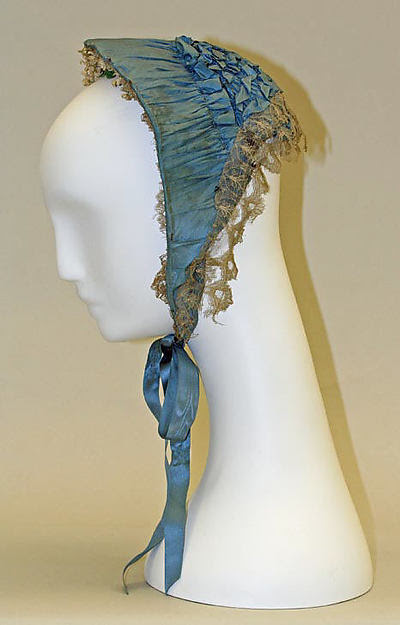 Mid-19th century bonnet from The Met