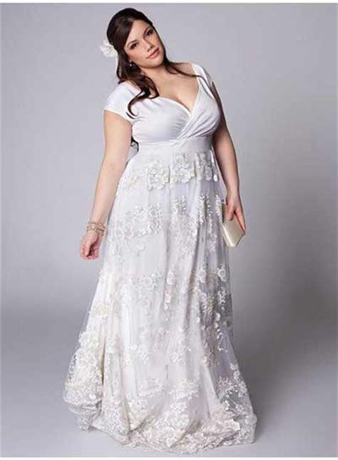 40 Modelos de Vestidos de Noiva para Gordinhas: Moda Plus