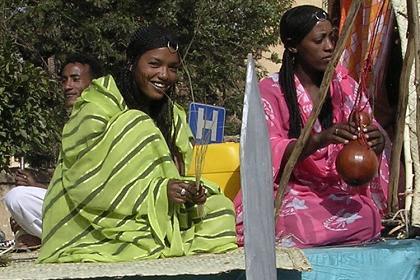 Street parade (Nara women) - Asmara Eritrea.