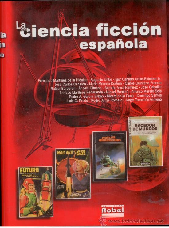 Recopilatorio de autores de ciencia-ficción españoles