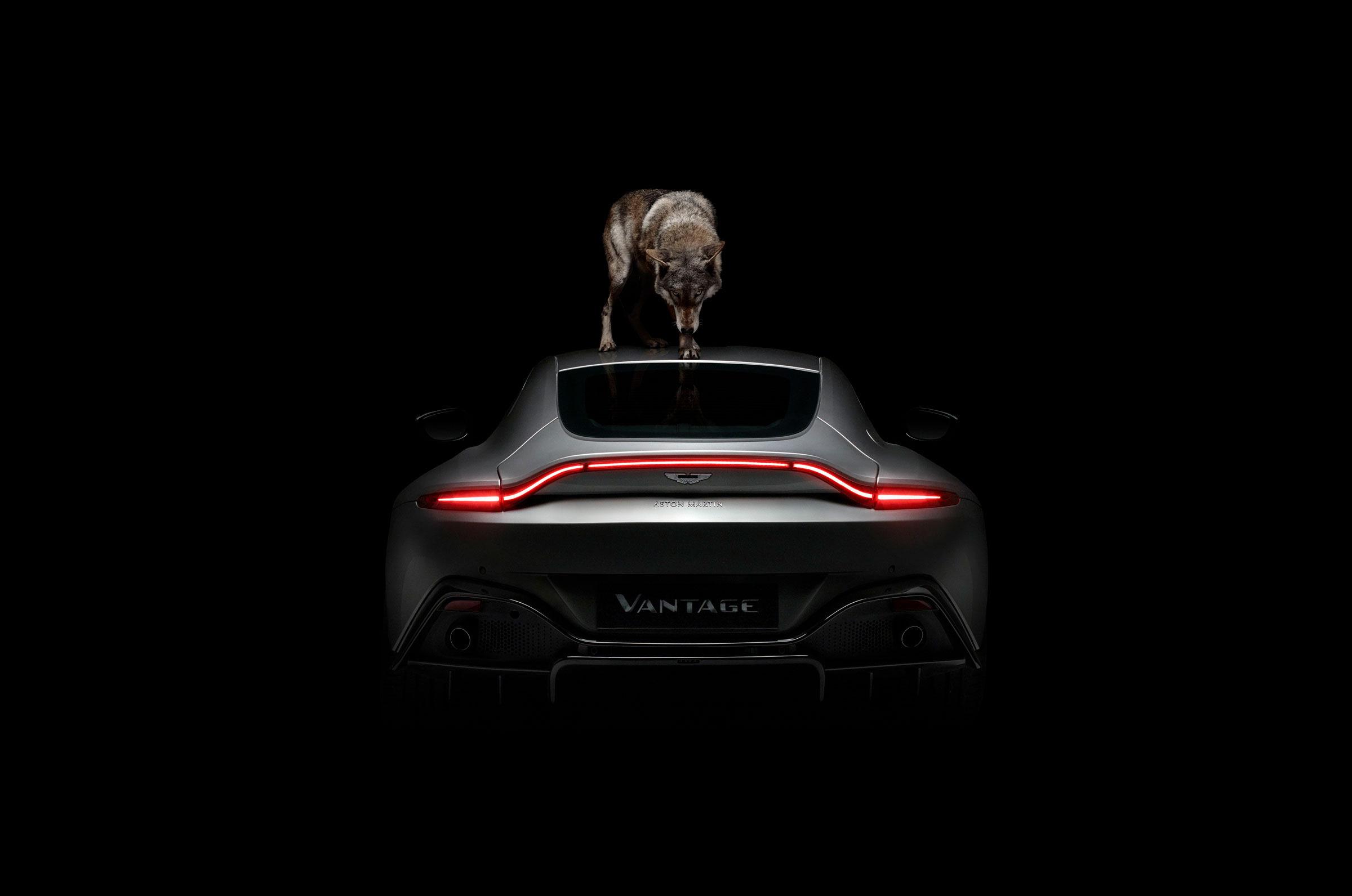 Rankin Brings His Vision To The New Aston Martin Vantage