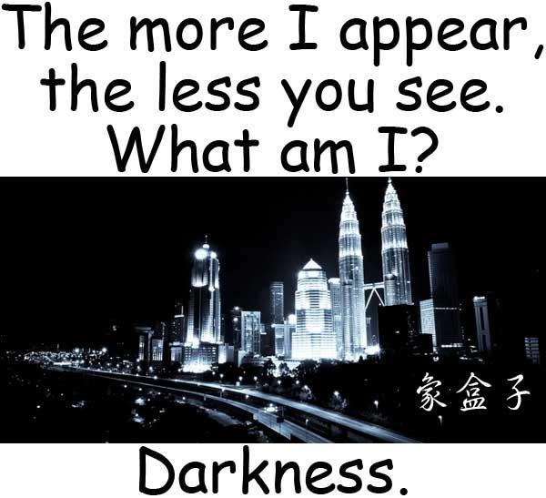 darkness 黑暗
