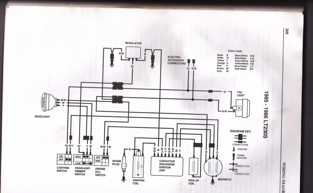 Autosportswiring  Suzuki Lt 160 Wiring Diagram