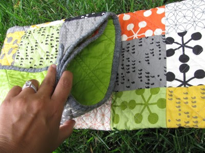 Tucked Quilt Fold (8)