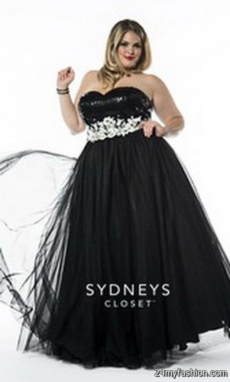 Prom dresses plus size 2017 2018 11