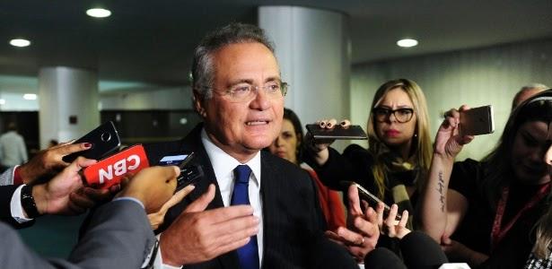 Justiça absolve Renan Calheiros por improbidade administrativa