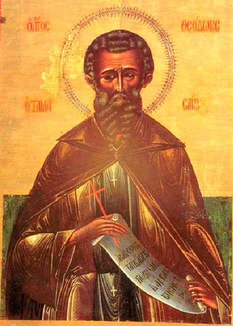 img ST. THEODORE the Wonderworker, Bishop of Tamassos, Cyprus