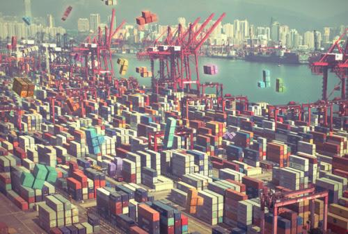 Pier Tetris by Ivan Guerrero