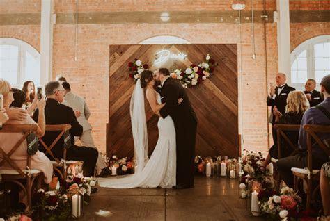 Romantic Rustic San Diego Wedding at BRICK Liberty Station