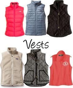 Vests {Found on ClassyCathleen}
